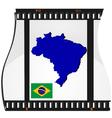 film shots brazil vector image vector image