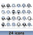 set of original web icons vector image vector image
