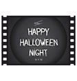 Just Halloween poster vector image