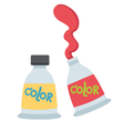 tube of paint vector image