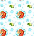 Seamless fish vector image vector image