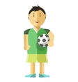 Boy character Isolated vector image