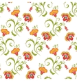 Traditional Asian seamless pattern vector image