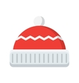 winter hat icon vector image