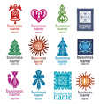 New collection of logos vector image vector image