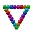 penrose triangle vector image