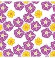 A seamless wallpaper design vector image vector image