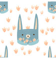 pattern hare vector image