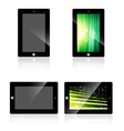 Abstract Tablet vector image