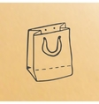 image of paper bag vector image