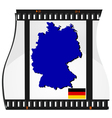 film shots germany vector image