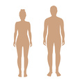 Male and female vector image