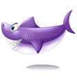 A big smiling shark vector image vector image