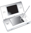 DS Portable Gaming vector image vector image