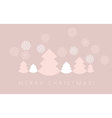 elegant pale color christmas background xmas vector image vector image