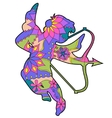 Cupid colorful vector image vector image