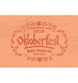 Oktoberfest logotype vector image