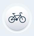 bicycle icon bike pictogram vector image