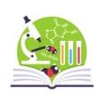 Organic Chemistry Emblem vector image