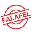 Falafel rubber stamp vector image