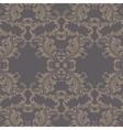 Vintage Spring floral damask pattern vector image