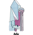 Dallas vector image
