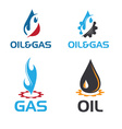 oil and gas industry i vector image