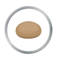 Bread icon of for web and vector image