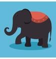 elephant festival funfair design vector image