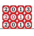 dial 2015 color vector image