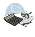 accounting vector image vector image