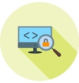 Insecure Code vector image