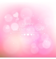 Valentine s day abstract background vector image