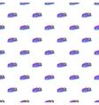 Children bumper machine pattern cartoon style vector image
