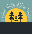 Forest Concept vector image