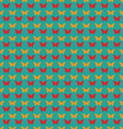 Seamless pattern with butterflies Flat style vector image