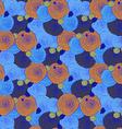 Sketch swirls pattern vector image