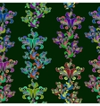 Graphic element Floral seamless texture vector image vector image