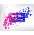 Abstract colorful business layout vector image vector image