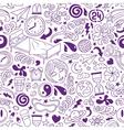 sleep - seamless background vector image