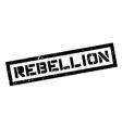 Rebellion rubber stamp vector image