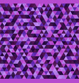 triangle purple pattern seamless vector image
