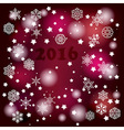 2016 Winter Background vector image vector image