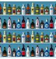 Bar seamless background vector image