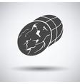 Ham icon vector image