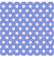 seamless circle dots background vector image vector image