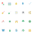 Agriculture Colored Icons 4 vector image