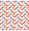 Seamless bright geometric circle pattern vector image