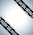 film strip document template vector image