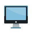 screen monitor computer device technology icon vector image